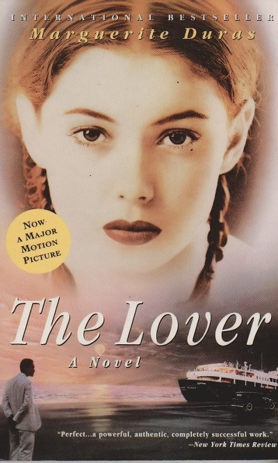 طرح جلد رمان عاشق Lover اثر مارگاریت دوراس