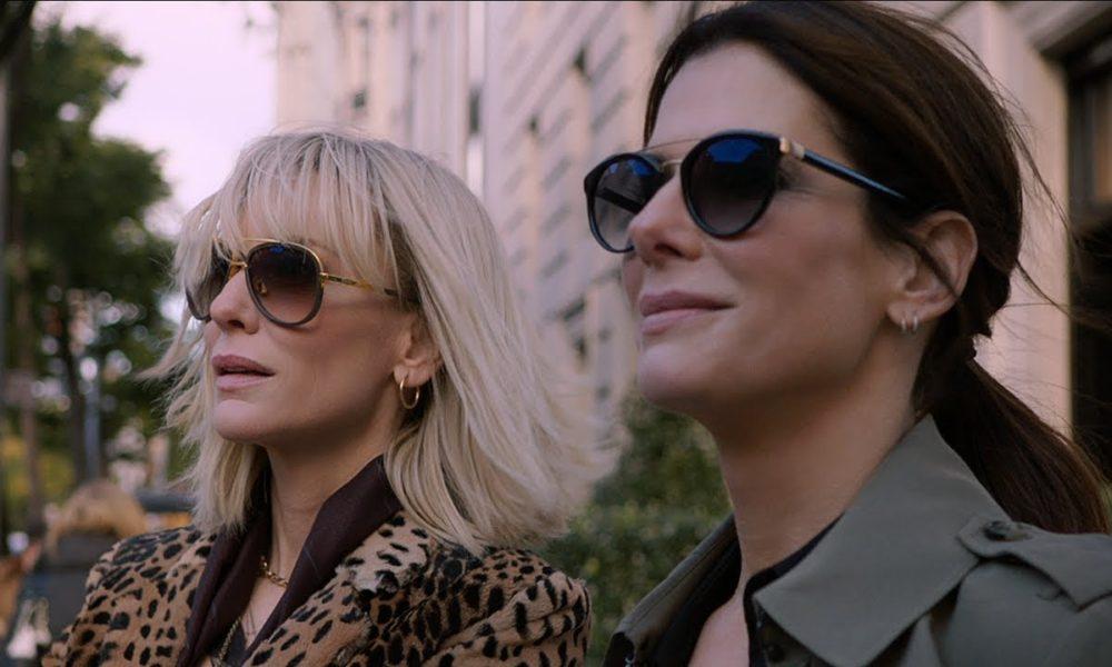Sandra Bullock و Cate Blanchett در فیلم 8 یار اوشن