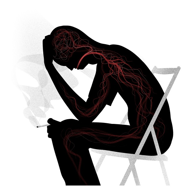 نیکوتین در کمتر از ۲۰ ثانیه پس از استنشاق دود سیگار به مغز میرسد