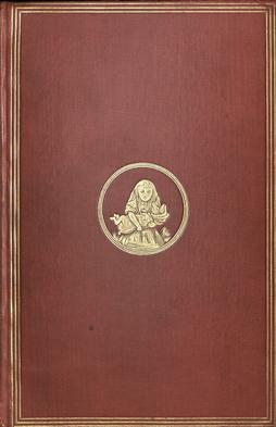 طراحی جلد رمان آلیس در سرزمین عجایب - اولین نسخه 1865