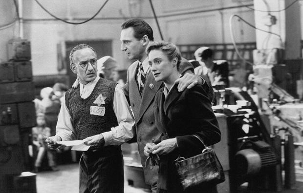 هنرنمایی Liam Neeson, Ben Kingsley و Caroline Goodall در فیلم Schindler's List فهرست شیندلر