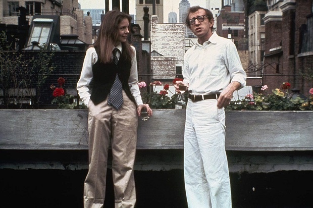 هنرنمایی Woody Allen و Diane Keaton در فیلم Annie Hall