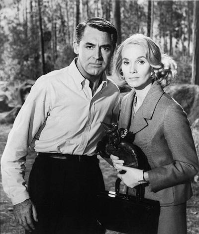 هنرنمایی Cary Grant و Eva Marie در فیلم North by Northwest