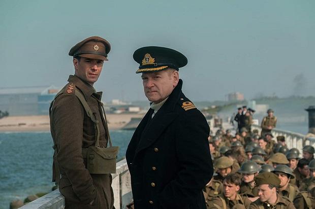 هنرنمایی Kenneth Branagh و James D'Arcy در Dunkirk