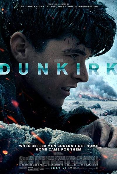 پوستر فیلم دانکرک کاری از کریستوفر نولان