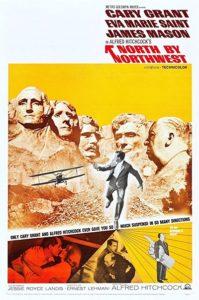 پوستر فیلم شمال از شمال غربی اثر آلفرد هیچکاک