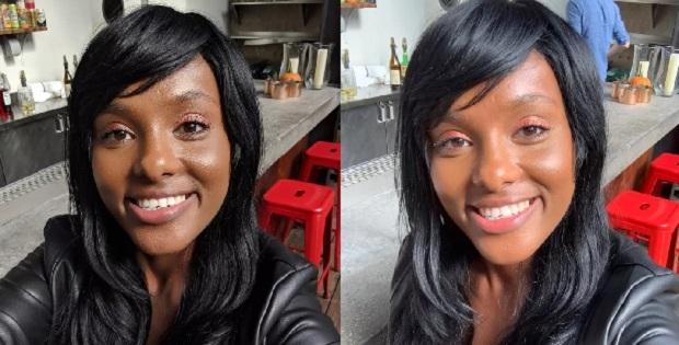 مقایسه تصاویر ثبت شده با دوربین سلفی آیفون XR (سمت راست) و اسمارت فون پیکسل 3 (سمت چپ)