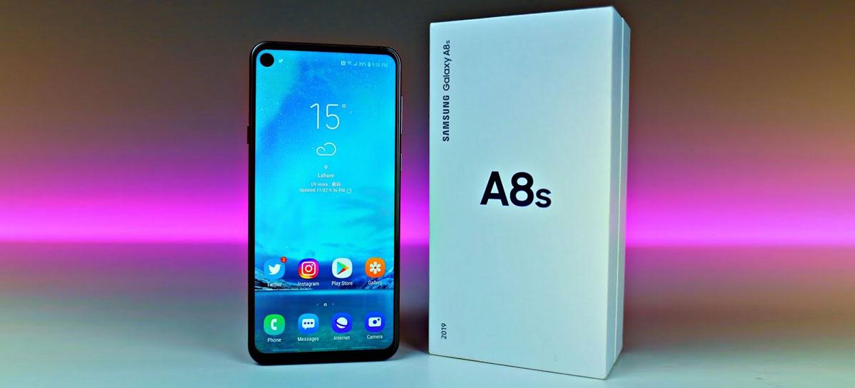 بررسی گلکسی A8s   Samsung Galaxy A8s زیر ذره بین نت نوشت