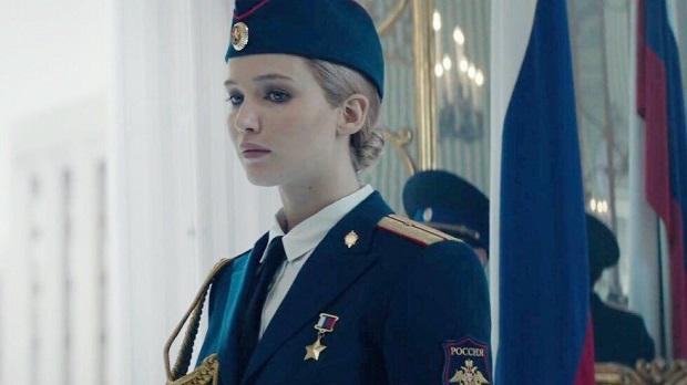 هنرنمایی Jennifer Lawrence در فیلم Red Sparrow