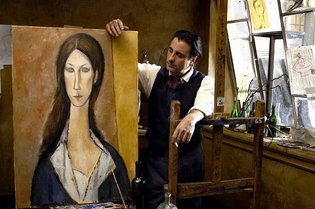 هنرنمایی Andy Garcia در فیلم Modigliani