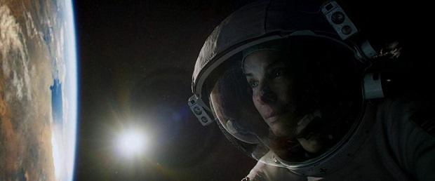 هنرنمایی Sandra Bullock در فیلم جاذبه