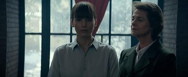 هنرنمایی Charlotte Rampling و Jennifer Lawrence در فیلم Red Sparrow