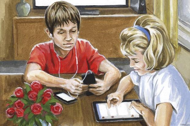 کودکان امروزی با وسایل ارتباطاتی هوشمند امروز متولد میشوند