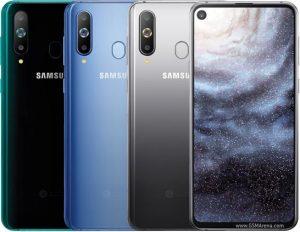 Galaxy A8s در رنگهای مختلف