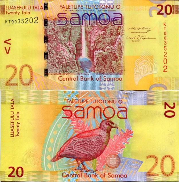 20 تالا، ساموا. منبع: Pinterest