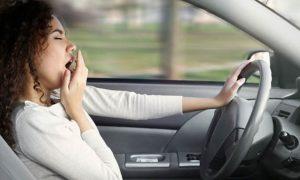 خوابیدن در هنگام رانندگی