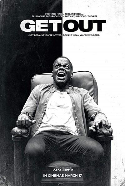 پوستر فیلم Get Out ساختهی جوردن پیل