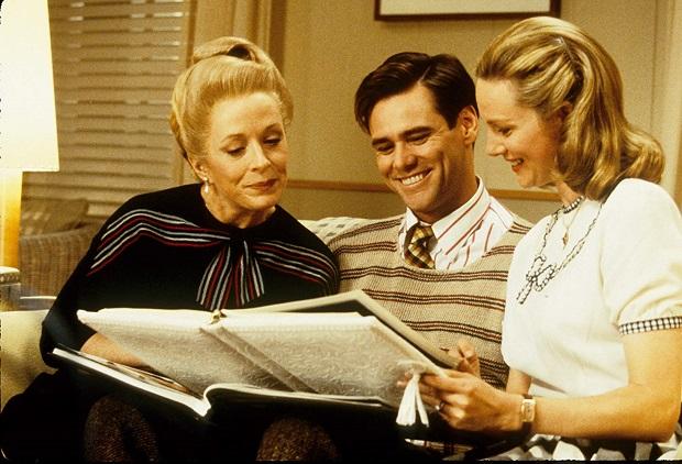 هنرنمایی Jim Carrey, Laura Linney و Holland Taylor در فیلم The Truman Show