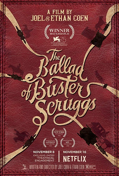 پوستر فیلم The Ballad of Buster Scruggs اثر برادران کوئن