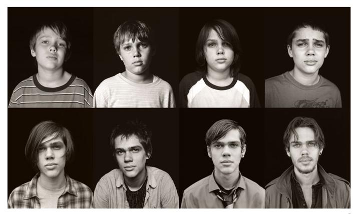 سیر 12 ساله تغییرات چهره در Ellar Coltrane برای فیلم Boyhood