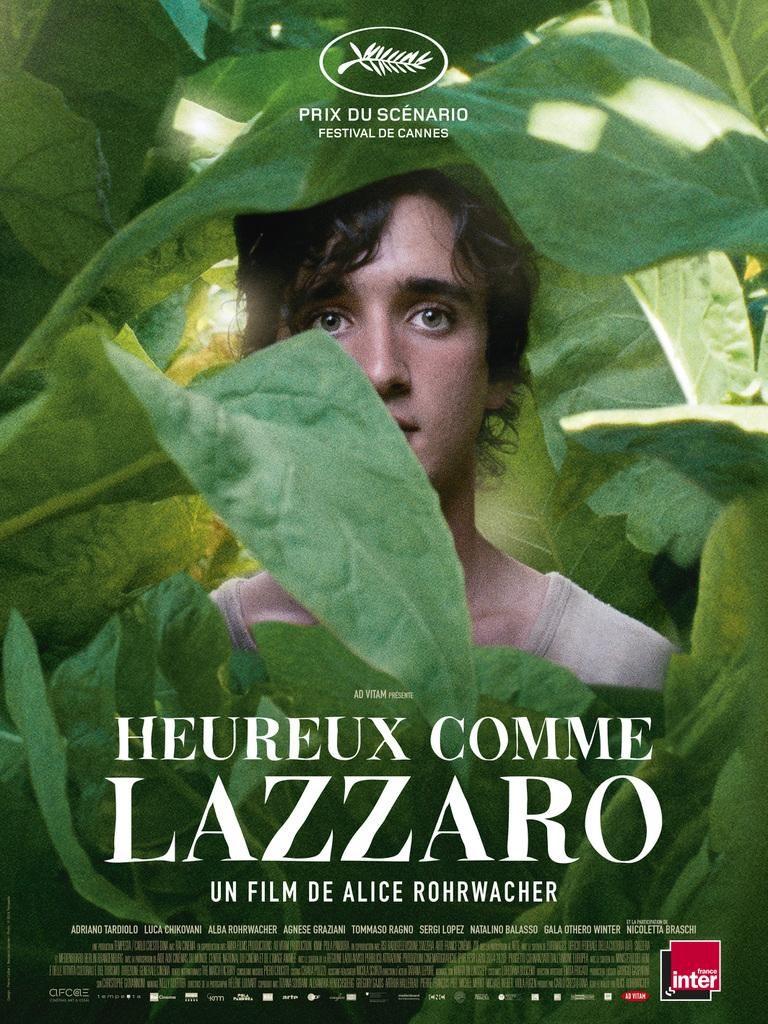 پوستر فیلم Happy as Lazzaro خوشحال مثل لاتزارو به کارگردانیآلیس رورواچر