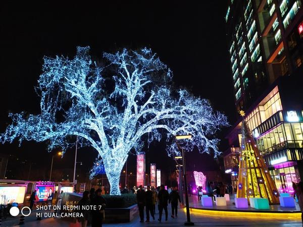 عملکرد دوربین ردمی نوت 7 در شب