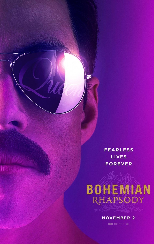 پوستر فیلم Bohemian Rhapsody جدیدترین ساختهی برایان سینگر Bryan Singer