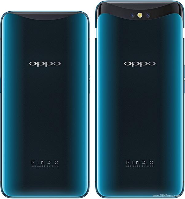 بررسی مشخصات Oppo Find X : رنگ آبی یخچالی