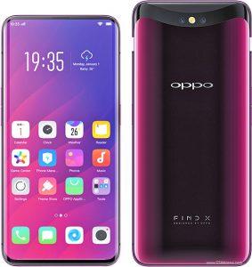 بررسی مشخصات Oppo Find X : رنگ قرمز بوردو