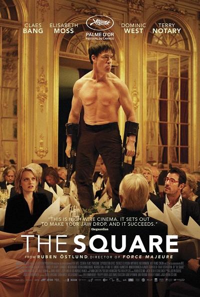 پوستر فیلم The Square ساختهی روبن استلوند