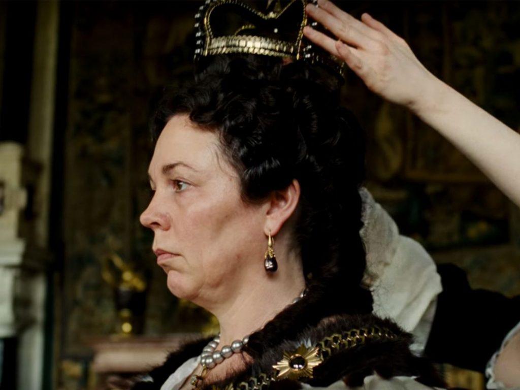 هنرنمایی Olivia Colman در فیلم The Favourite