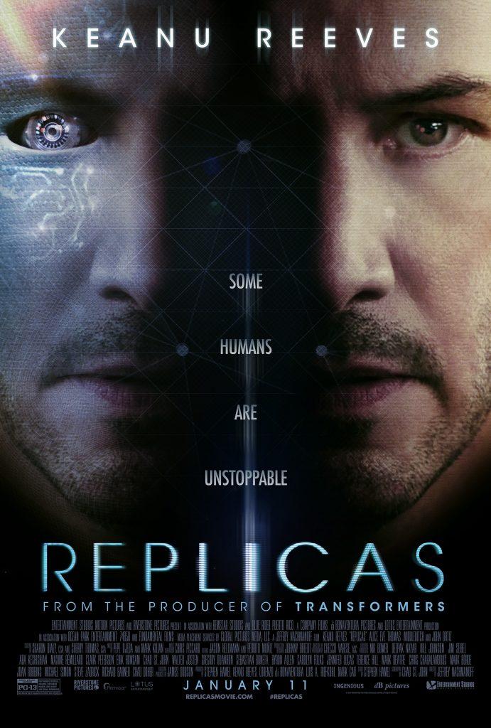 پوستر فیلم Replicas به کارگردانی Jeffrey Nachmanoff