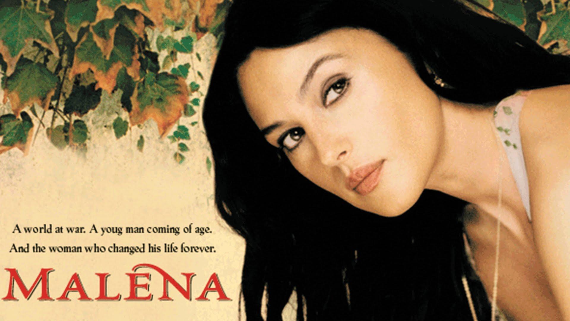 پوستر فیلم مالنا Malèna به کارگردانی جوزپه تورناتوره Giuseppe Tornatore
