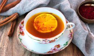 چای زعفران