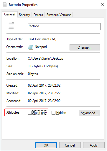 وجود تنها یک فایل فقط خواندنی(Read Only)، انتقال اطلاعات یا فرمت کردن فلش مموری را مختل میکند.