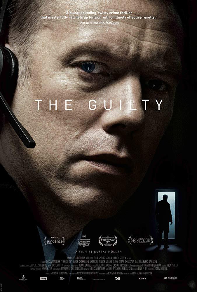 پوستر فیلم The Guilty گناهکار به کارگردانی Gustav Möller
