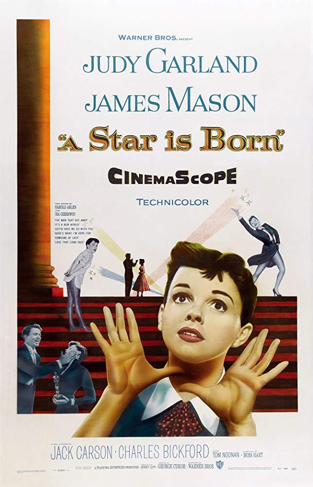 پوستر فیلم A Star Is Burn نسخه 1954 با درخشش جودی گارلندJudy Garland