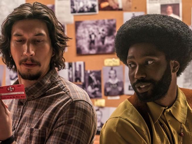 نقش آفرینی John David Washington و Adam Driver در فیلم BlacKkKlansman