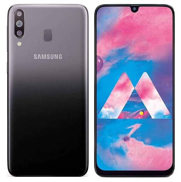 Samsung Galaxy M30 دارای نمایشگر ۶٫۴ اینچی (۱۶٫۲۶ سانتی متری) سوپر امولد با رزولوشن ۱۰۸۰ * ۲۳۴۰ پیکسل (تراکم پیکسلی ۳۹۴ پیکسل در هر اینچ مربع) میباشد.