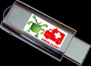 ویروسهای روی فلش مموری یکی از دلایل بروز خطای write protected هستند.