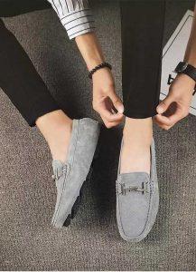 کفش مردانه لوفر مناسب برای جوراب بدون دید
