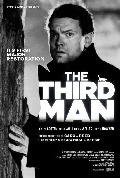 پوستر فیلم مرد سوم the third man ساخته کارول رید