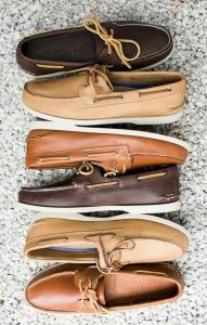 کفش مردانه قایقی مناسب برای جوراب بدون دید