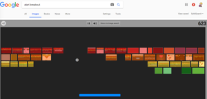 Atari Breakout به نحوی پدر بزرگ بازی مخفی گوگل به شمار میرود