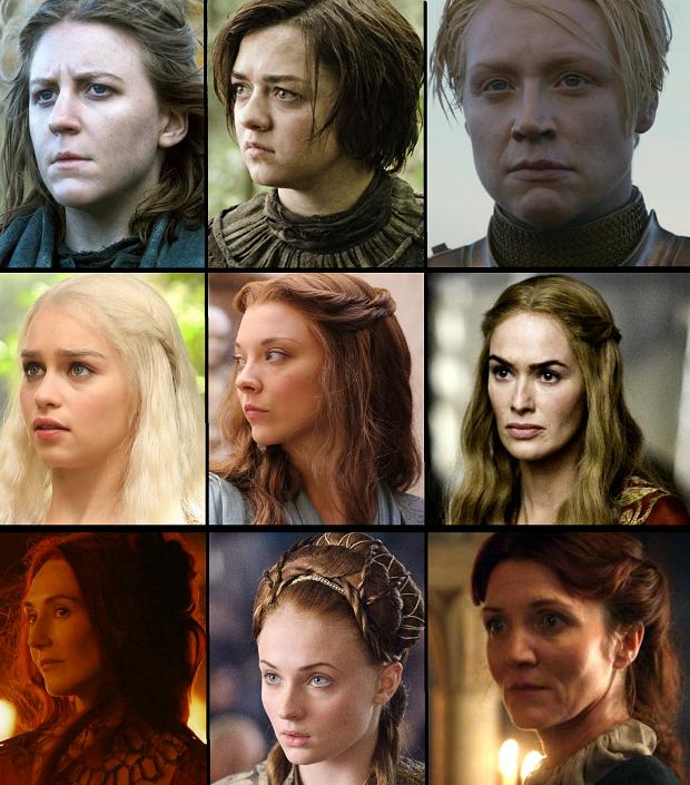 بررسی نقش زن در سریال بازی تاج و تخت
