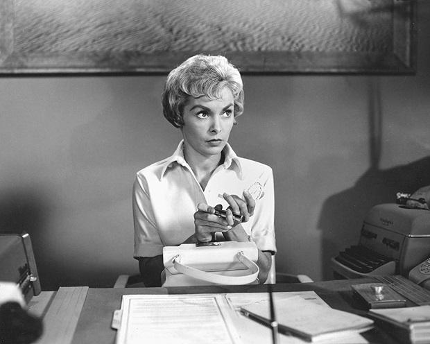 هنرنمایی Janet Leigh در فیلم روانی Psycho (ساخته 1960)