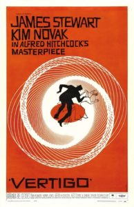پوستر فیلم Vertigo یا سرگیجه اثر آلفرد هیچکاک
