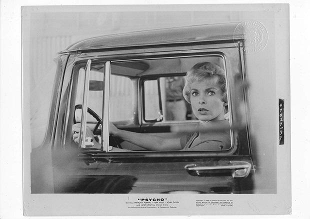 هنرنمایی Janet Leigh در فیلم Psycho ساختهی آلفرد هیچکاک 1960