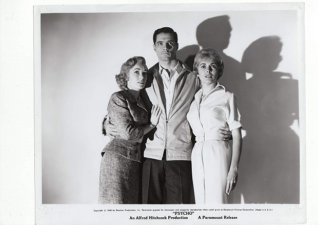 Anthony Perkins, Janet Leigh و Vera Miles در فیلم Psycho