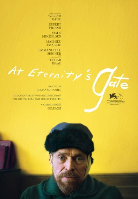 پوستر فیلم At Eternity's Gate ساختهی جولین اشنابل